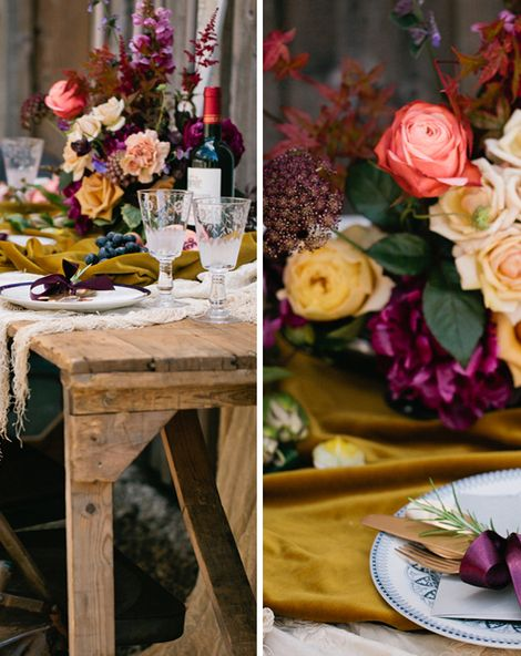 Autumn Wedding Styling With The List