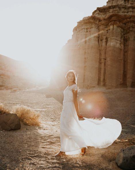 RMW Real Bride Diary {Emma & Dean: The Dress}