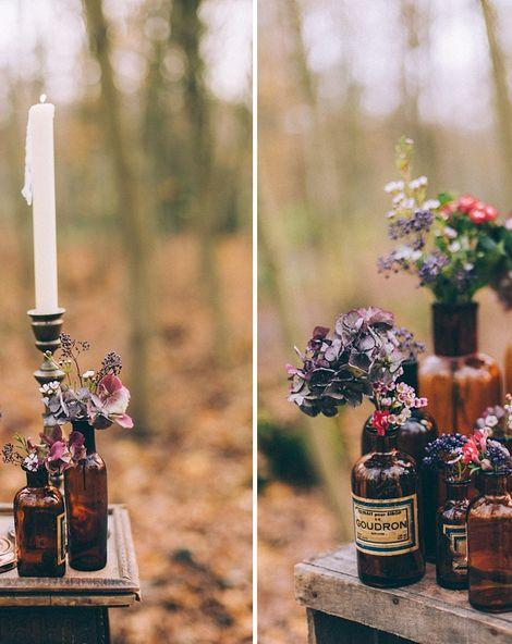 Woodland Wedding Inspiration With A Parisian Twist