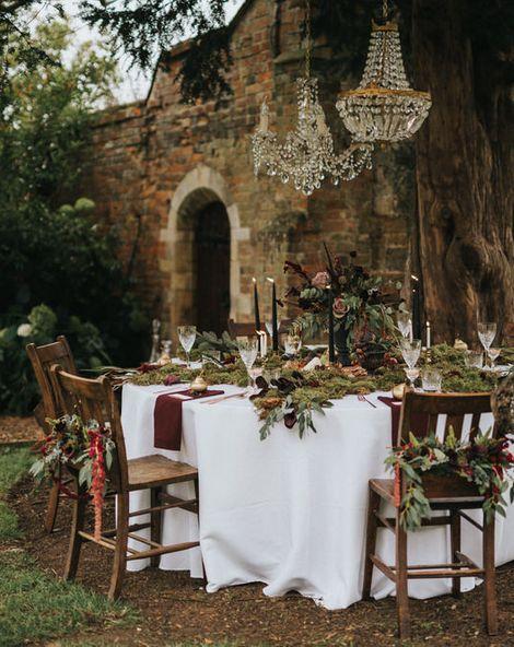 A Secret Garden Banquet