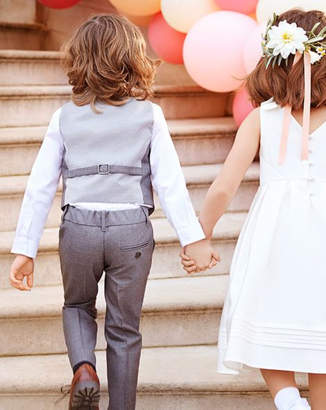Cute Outfits For Your Flowergirls & Page Boys