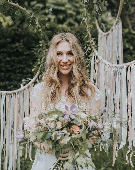Bohemian Chic Wedding Inspiration Shoot