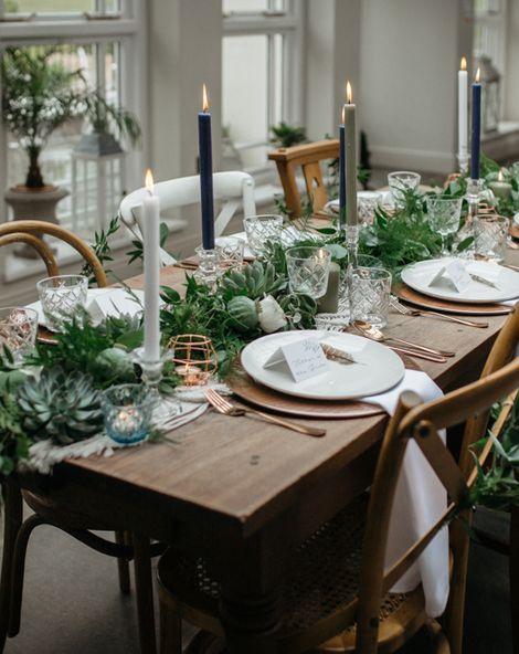 Macrame & Feathers For A Boho Wedding