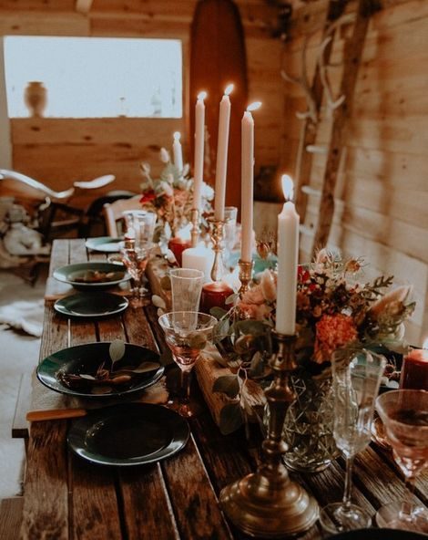 Anja & Søren {French Forest Wedding With Nordic Touches}
