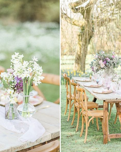 A Spring Wedding With Easter Treats