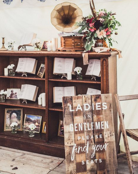 Wedding Details For Book Lovers