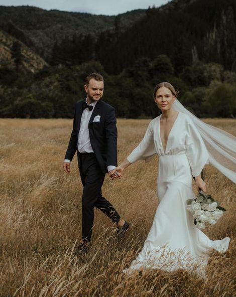 Minimal & Modern Bridalwear From Designer Charlie Brear