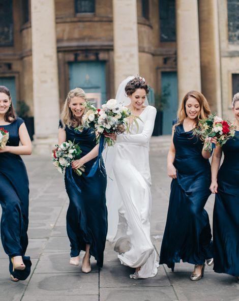 Best Bridesmaid Dresses for a Black Tie Wedding