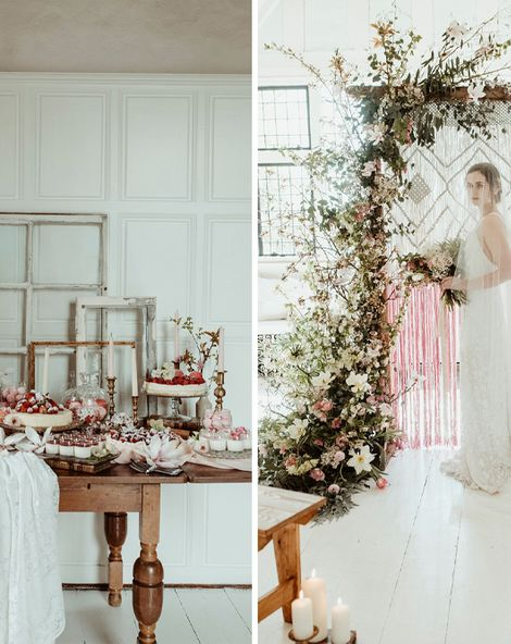 Classical Springtime Romance at Butley Priory in Suffolk by Brown Birds Weddings   Half Penny London Bridal Wear   Jess Soper Photography
