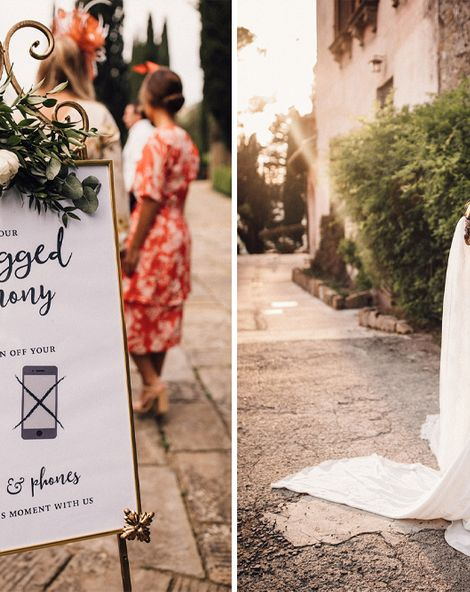 Stylish Tuscan Wedding at Vignamaggio with Vintage Ape Bar, Planned by The Wedding Boutique Italy | Pronovias | Samuel Docker Photography | Paul Van Films