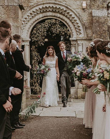English Country Garden Marquee Wedding at the Family Home by Jason Mark Harris