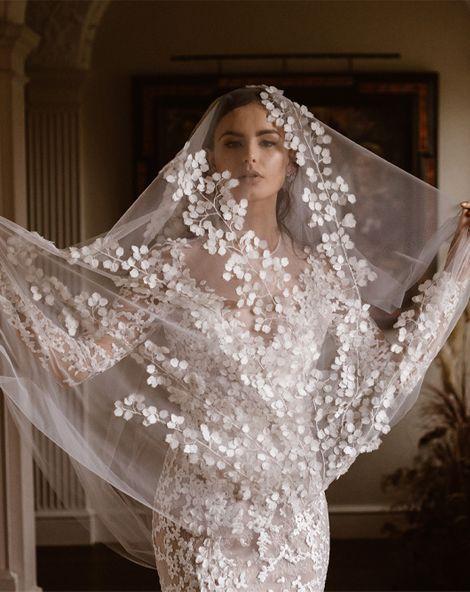 Emma Beaumont Wedding Dress Collection   Bridal Gowns   Stylish Wedding Dresses   Agnes Black Photography