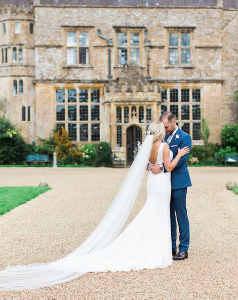 Ivory, Gold and Grey Colour Scheme for Whimsical Country House Wedding at Brympton House with Bride in St Patrick La Sposa, shot by Helen Cawte Photography