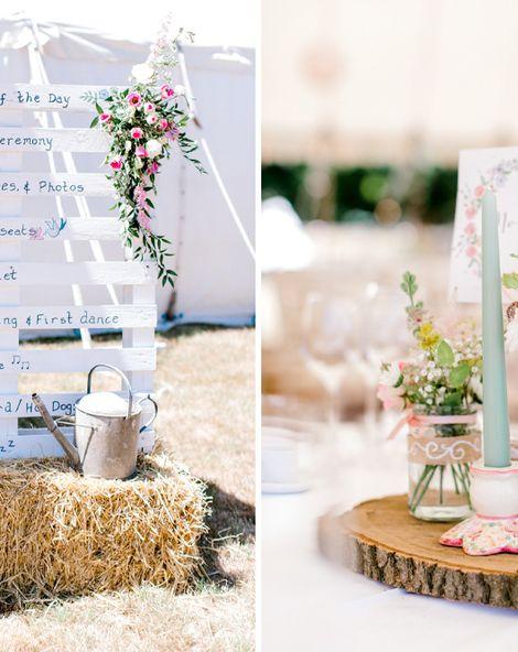 Homemade Wedding Decorations