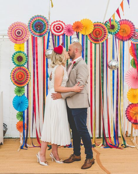Midi Wedding Skirt for Village Fete Style Wedding at Horningsea Pavilion