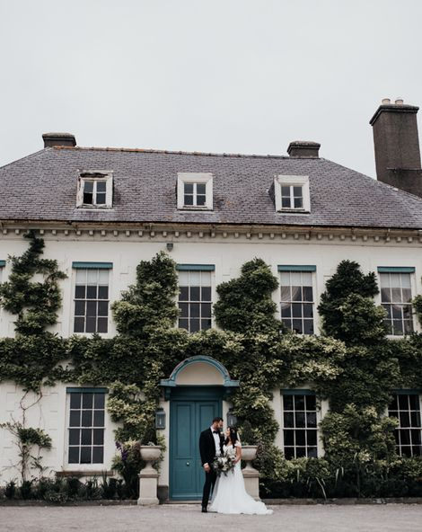 Paloma Blanca Wedding Dress for Marquee Celebration in Wales