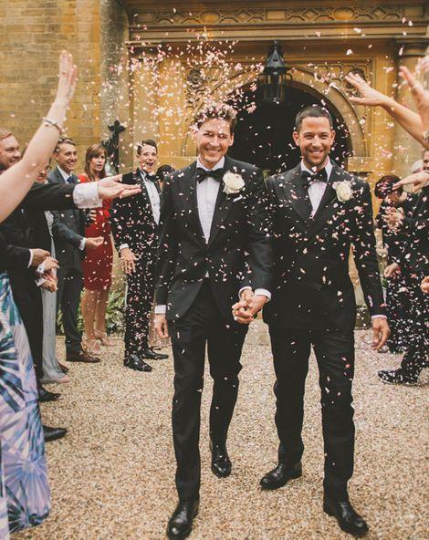 Gay Weddings - Let's Hear It For The Boys
