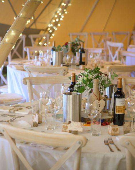 Kielder Waterside Tipi Weddings