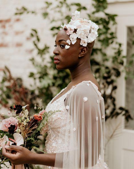 Bride With Alopecia 1