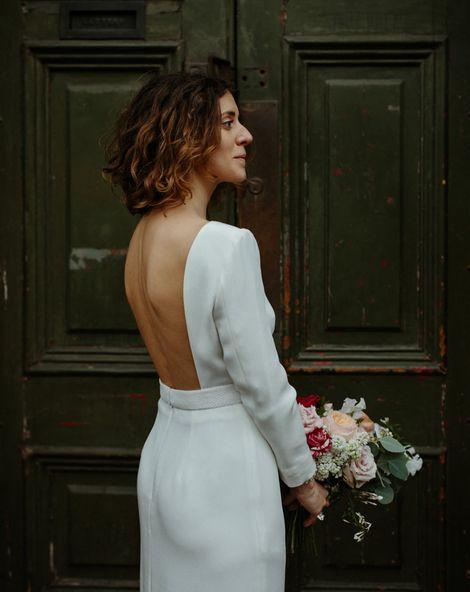 registery office weddng dress
