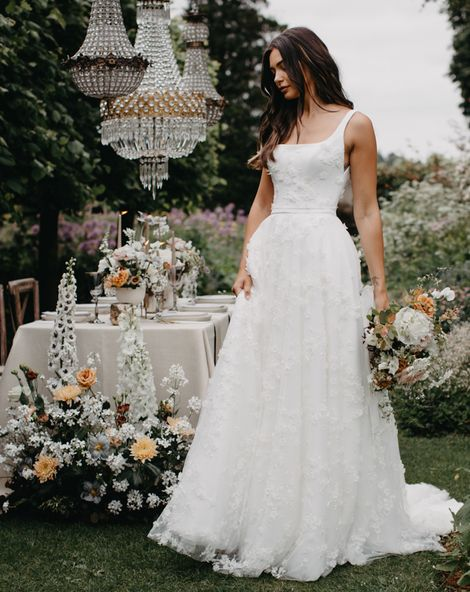 New Nova 2022 Suzanne Neville bridal collection at Barnsley House