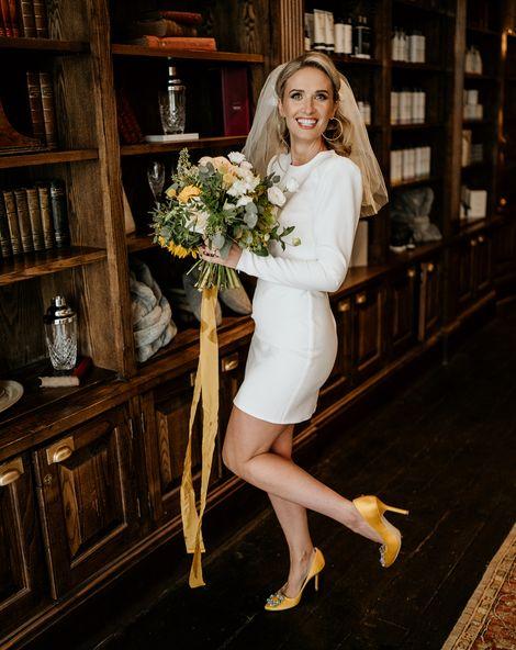 The best short wedding dresses for stylish brides