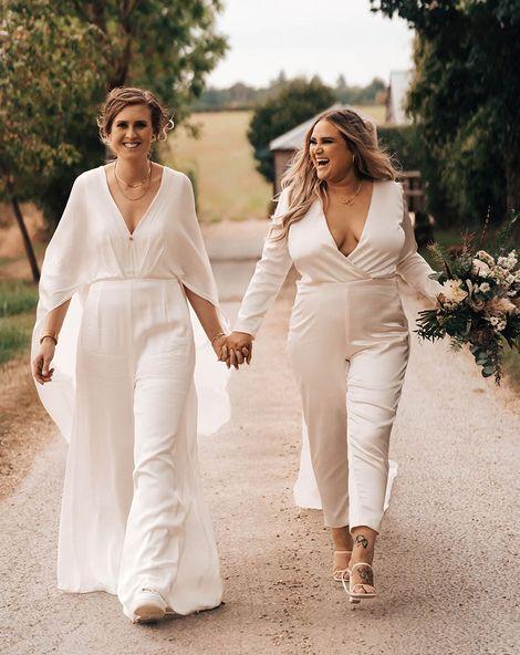 Brides In Jumpsuits