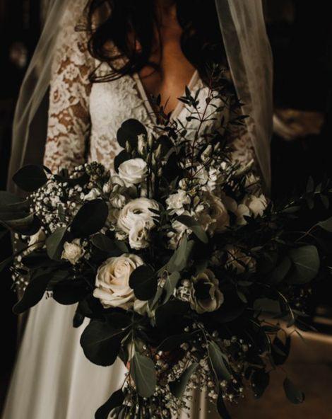 black ti wedding
