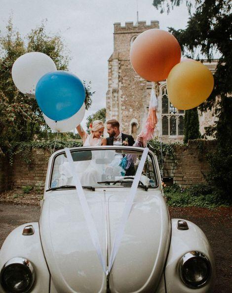 Balloon Ideas For Weddings