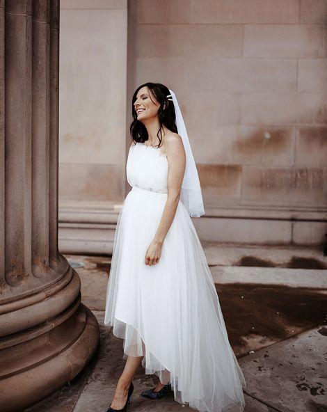 Pregnant Bride Dress