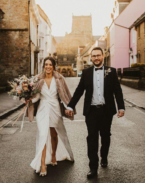 Wrap Wedding Dress