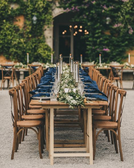 Outdoor Tuscany Wedding