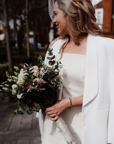 White Wedding Coat