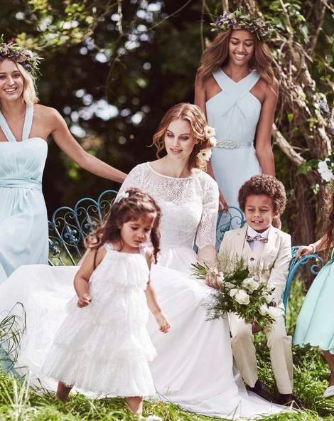 Watercolour Wedding Inspiration With Monsoon