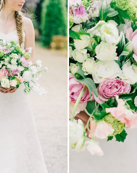 Dutch Flowers & French Inspiration