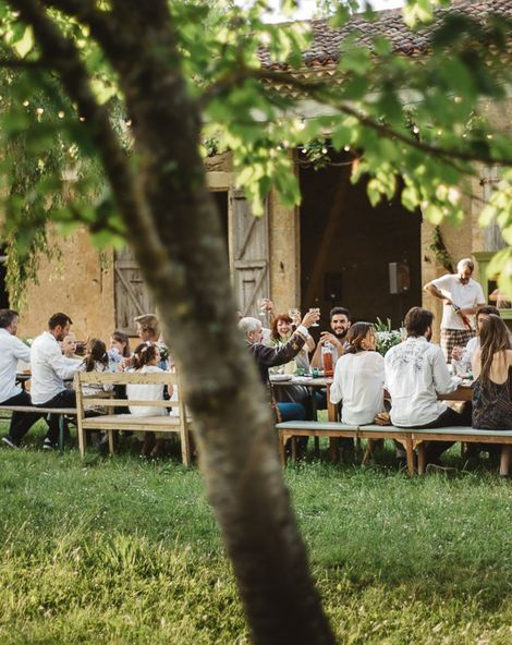 Rustic French Weddings at Ferme de Labarthe