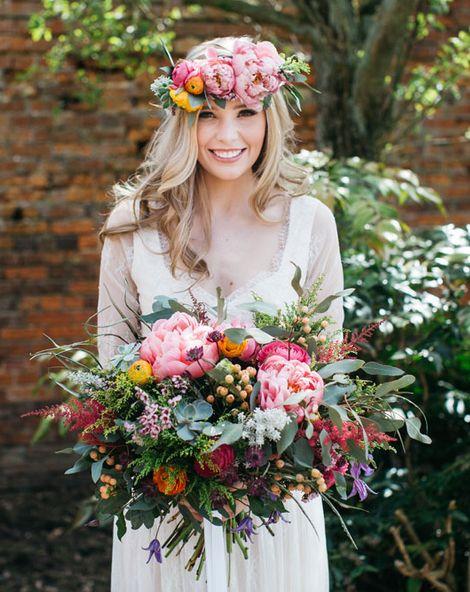 Summer Boho Bridal At Irnham Hall