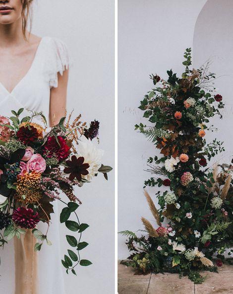 Stylish Autumnal Wedding Inspiration