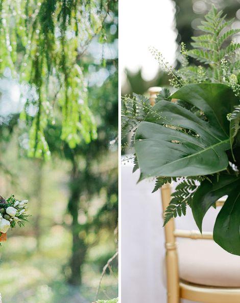 Using Greenery In Your Wedding Decor