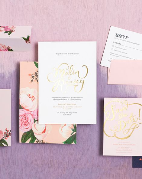 Find Your Wedding Stationery Style {New Collection From BerinMade}