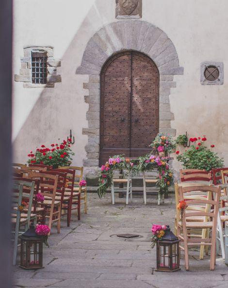 A Bright & Beautiful Tuscany Wedding {Wedding In Wonderland}