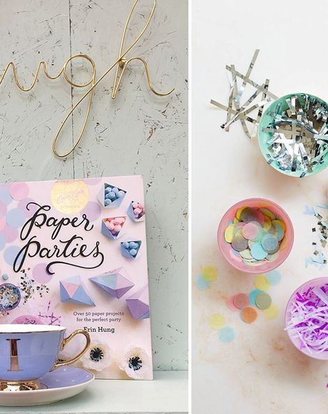 Creative Ways To Dress Up Your Reception Table {Paper Parties by Berin Made}