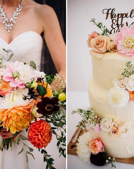 Dahlia Wedding Flower Inspiration