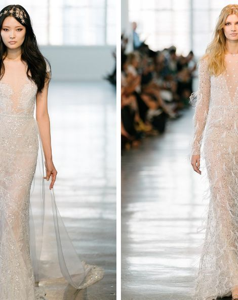 Five Gorgeous Hairstyles from Bridal Fashion Week