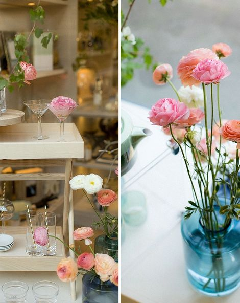 Gin & Flowers At The Wedding Shop Edinburgh Showroom