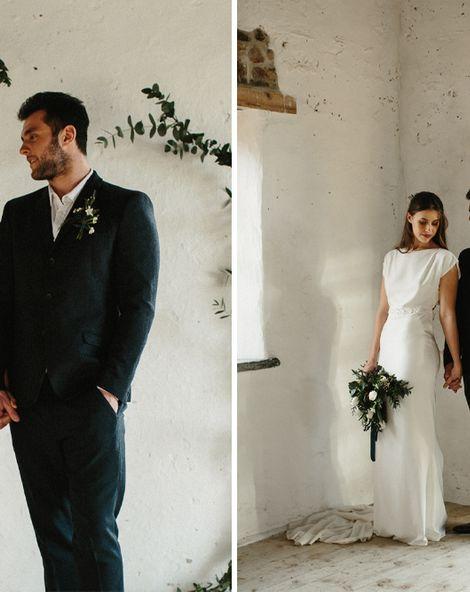 Minimalistic Launcells Barton Wedding {Less is More}