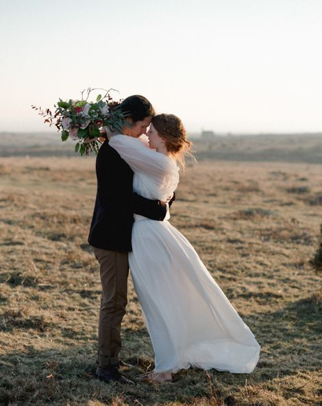 Poldark Inspired Elopement Wedding