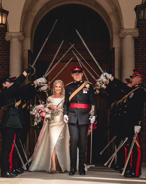Sandhurst Military Academy Marquee Wedding