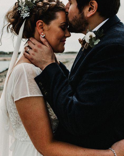 Snowdonia National Park Boho Wedding   Carla Blain Photography   Exclusive Hire of Plas Gwynfryn   Up Marquees   AlexVeil Bridal Gown