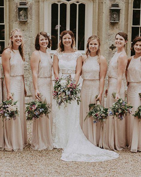 The Best Blush Bridesmaid Dresses